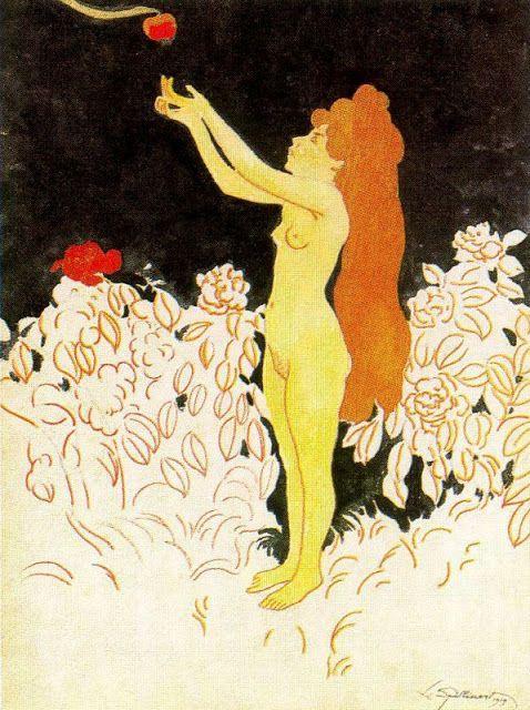 * Léon Spilliaert - - - The forbidden fruit (227-001)