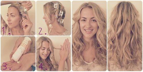 Here's how Ali gets these amazing waves. SO EASY!! loove our super long Ionic Hot Rollers and Embellish texturizing cream!! Available at this link:http://www.calistatools.com/products_drystyling_solutions.html. Hooray for pretty hair!#hair #howto #beach #waves #BeachHair