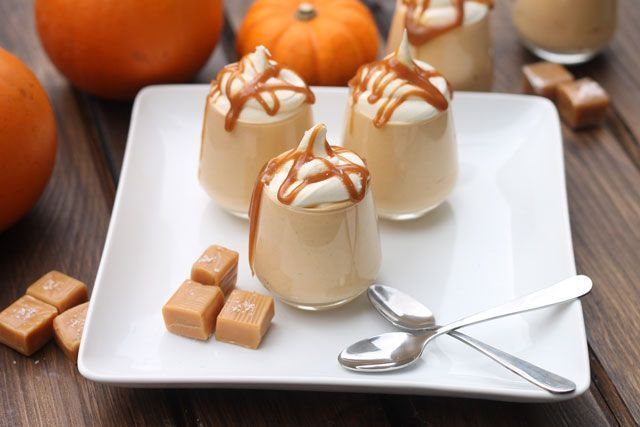 Don't Serve These At Thanksgiving Without A Warning Sign #refinery29  http://www.refinery29.com/thanksgiving-jello-shots-drink-recipes#slide-3  Salted Caramel Pumpkin Pudding ShotsMakes 12 shotsIngredients1 (3-oz) box pumpkin spice flavored instant pudding8 oz tub Cool Whip3/4 cup milk3/4 cup caramel- or salted-caramel flavored vodka1/2 cup caramel sauce (plus some for drizzling on top of shots)2 tsp sea salt (split in halves)Whipped cream for topping<b...