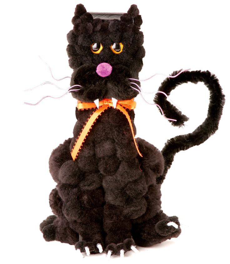 111 best kids 39 arts crafts halloween images on for Cat art and craft