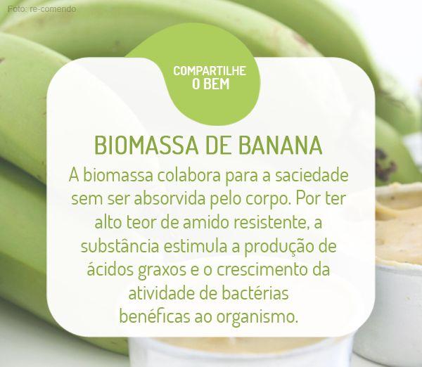 Você pode incorporar a biomassa no seu cardápio diário, adicionando-a a sucos, bolos, tortas, patês e outras receitas. Clique na imagem e veja como fazer em casa!