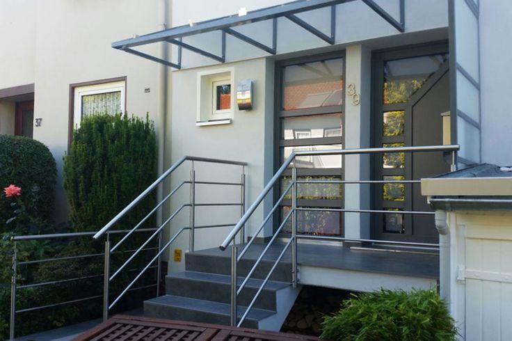 Haustürüberdachung   Ronald Meyer – Metallbau • Stahlbau
