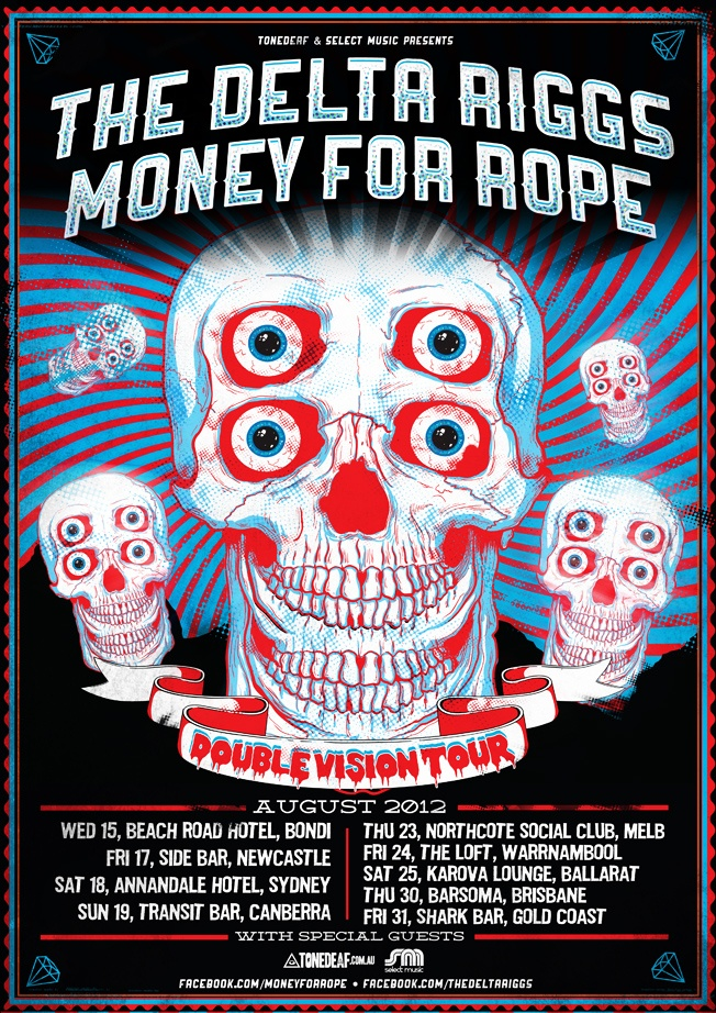 The Delta Riggs and Money For Rope @ Northcote Social Club (Aug 2012)