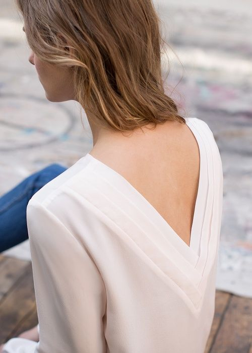 Blouse Pisa // Collection Printemps Été ww.sezane.com #sezane #lookbook #collection #printemps #ete #rome #blouse #Pisa #ladolcevita