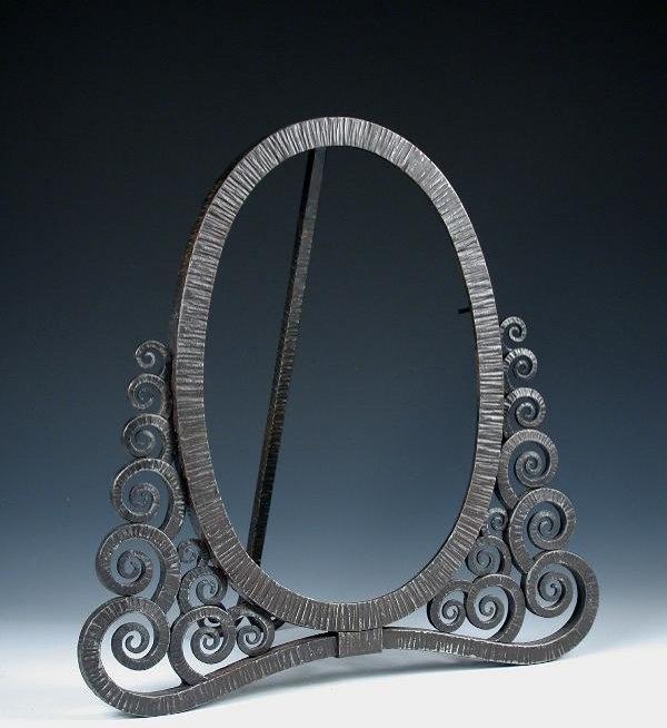 Edgar Brandt, Mirror Frame : Lot 388