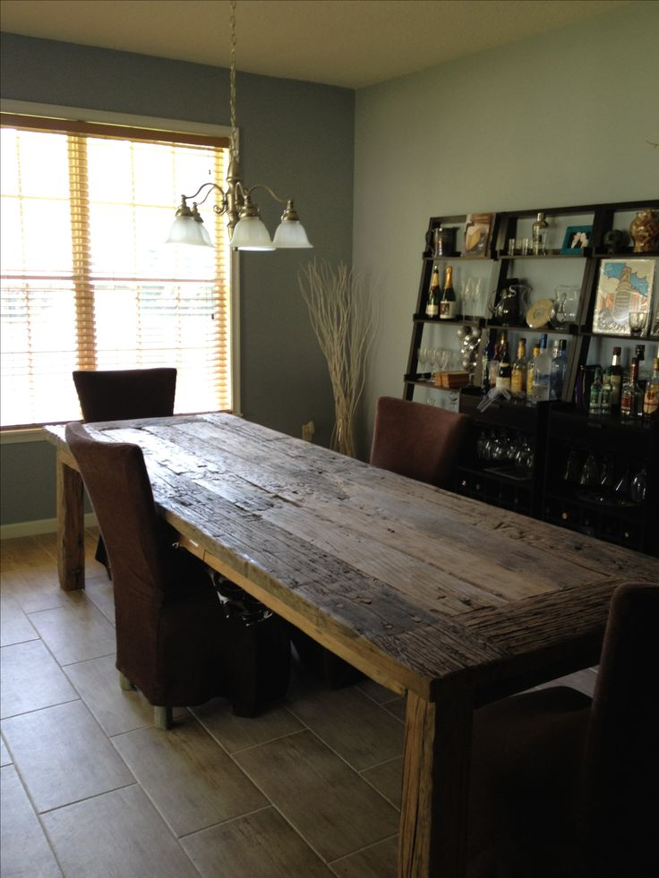 10 Ft Table Made From Railroad Ties From Bali Visit Amp Like