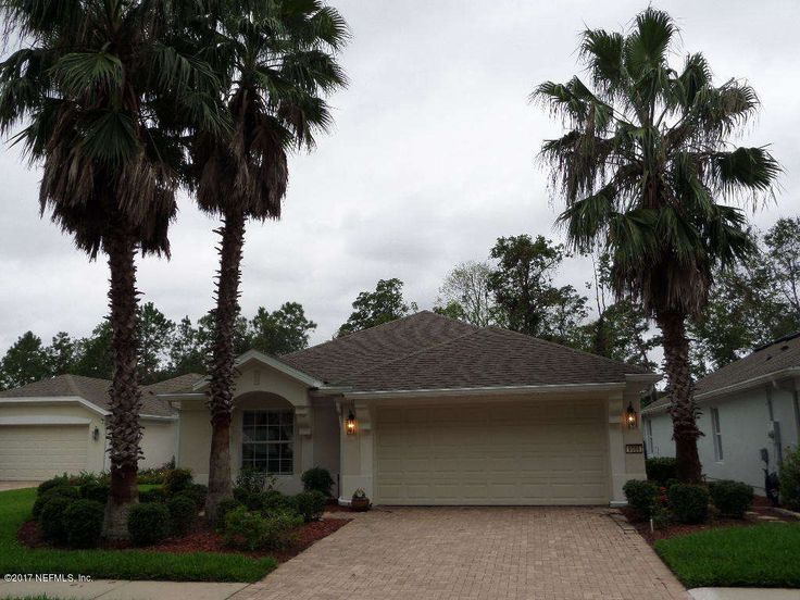 Open floor plan which ... includes a spacious living area and dining area, and an beautiful eat-in kitchen with breakfast bar! Bedrooms are great size  Master bath features an oversized walk-in shower and double vanity...3rd bedroom will make a perfect den, with custom built bookshelves.Backyard is a fenced n oasis which allows you to enjoy your screened lanai - The amenities and activities in this neighborhood are second to none- boredom will be tough to achieve here! This is a 55…