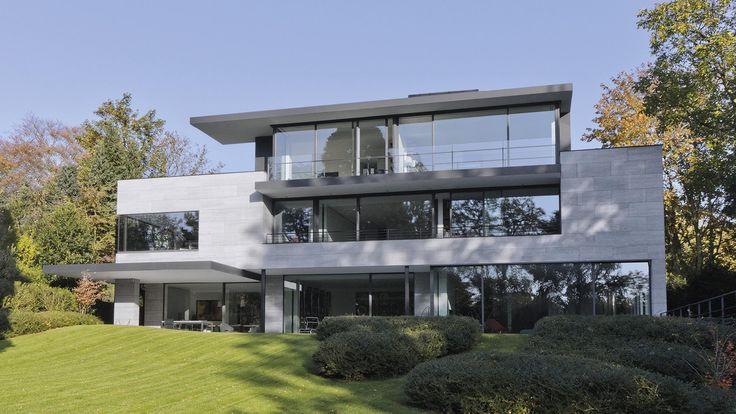 145 best marc corbiau images on pinterest villas for Maison moderne uccle