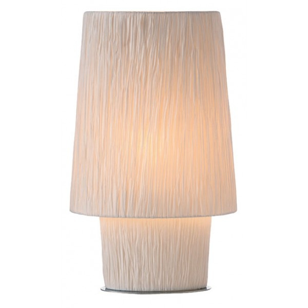 Lilly 1 light Crinkled Large Table Lamp