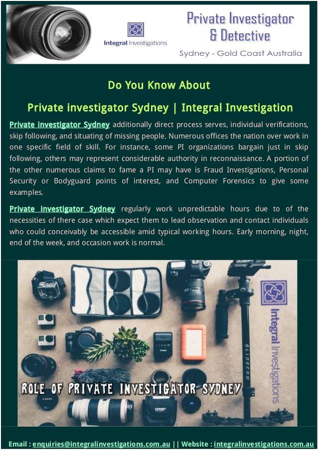 Best  Private Investigator Ideas On   Detective
