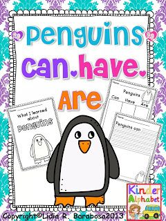 Three FREE Penguin Packet Printables for Reading and Math - pinned by @PediaStaff – Please Visit ht.ly/63sNtfor all our pediatric therapy pins