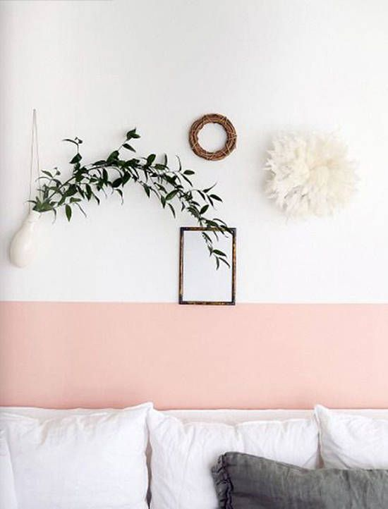 accent wall   weekend at home