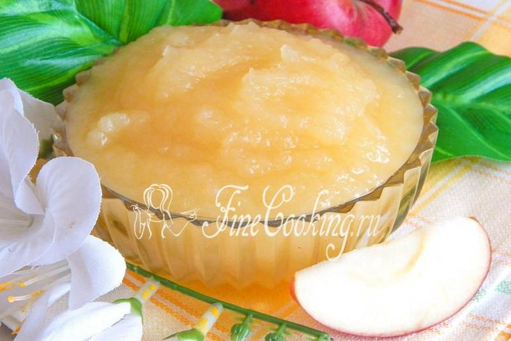Домашнее яблочное пюре - рецепт с фото