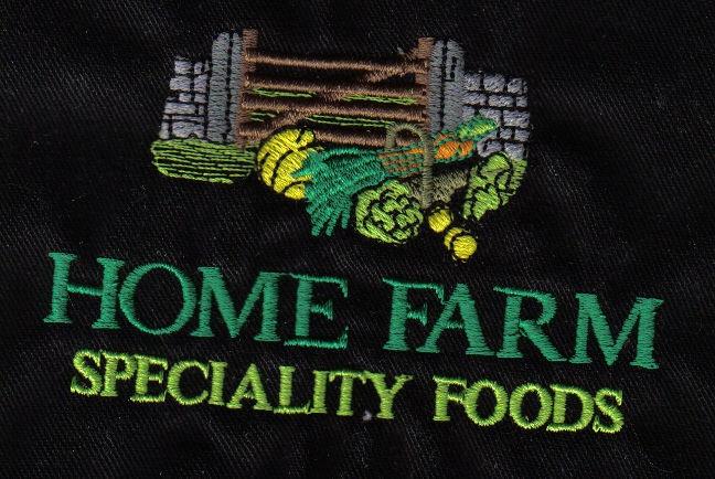 Home Farm embroided design