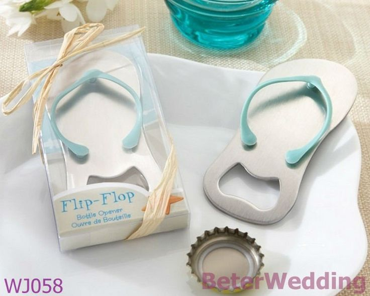Pop the Top Flip-Flop Bottle Opener Festive & Party Supplies, Graduation Gifts WJ058   #wedding #crafts http://aliexpress.com/store/product/Wedding-Dress-Tuxedo-Favor-Boxes-120pcs-60pair-TH018-Wedding-Gift-and-Wedding-Souvenir-wholesale-BeterWedding/512567_594555273.html