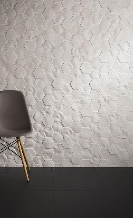 Best 25 3D Tiles Ideas On Pinterest  Origami 3D Hexagon 3D Wall Stunning 3D Tiles For Bathroom 2018