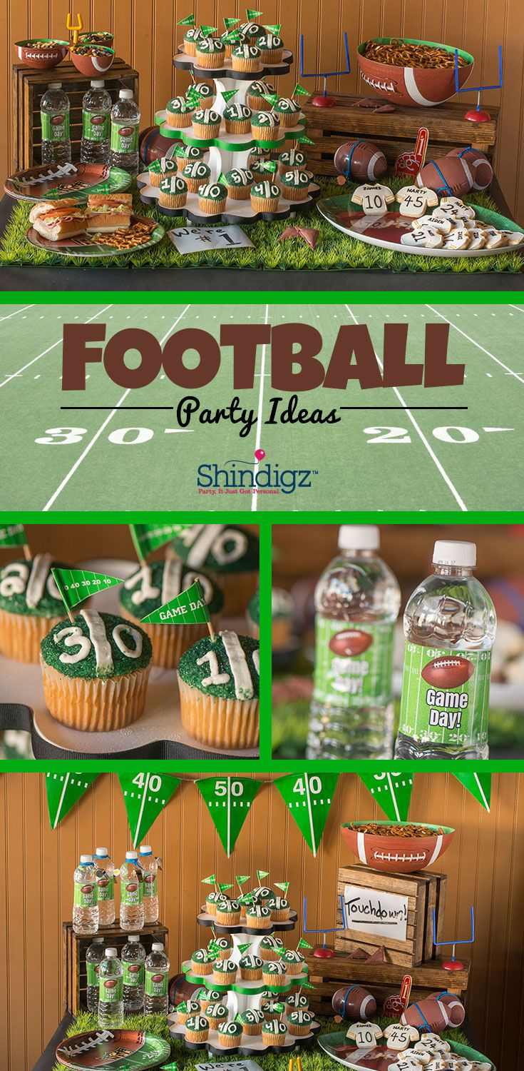 From personalized banners to festive tableware, the perfect football party or tailgate starts with the right decorations!