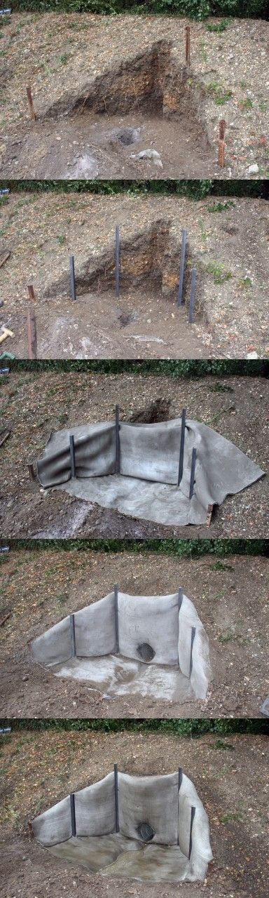Concrete Cloth 13 mm Thick, 80 m² Bulk Roll