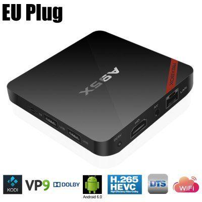 BOX TV NEXBOX A95X (Quad core S905X RAM 2GB) à 29 Bonjour  Excellent bon plan surcette box TVposté ce matin dans la section Flash Deal qui est dispo pour 29.85 via un code promo.  Idéal également pour afficher Jeedom (via lapplication officiel) sur grand écran pour Kodi vos cameras les chaines TV en Replay etc  BOX TV NEXBOX A95X à 29  Code promo : 11GBA95X    Spécifications :  BOX TV NEXBOX A95X  Amlogic S905X quad-core2.0GHz  ARM Mali-450MP  Android 6.064bit  RAM: 2G ROM: 8GeMMC  Slot…