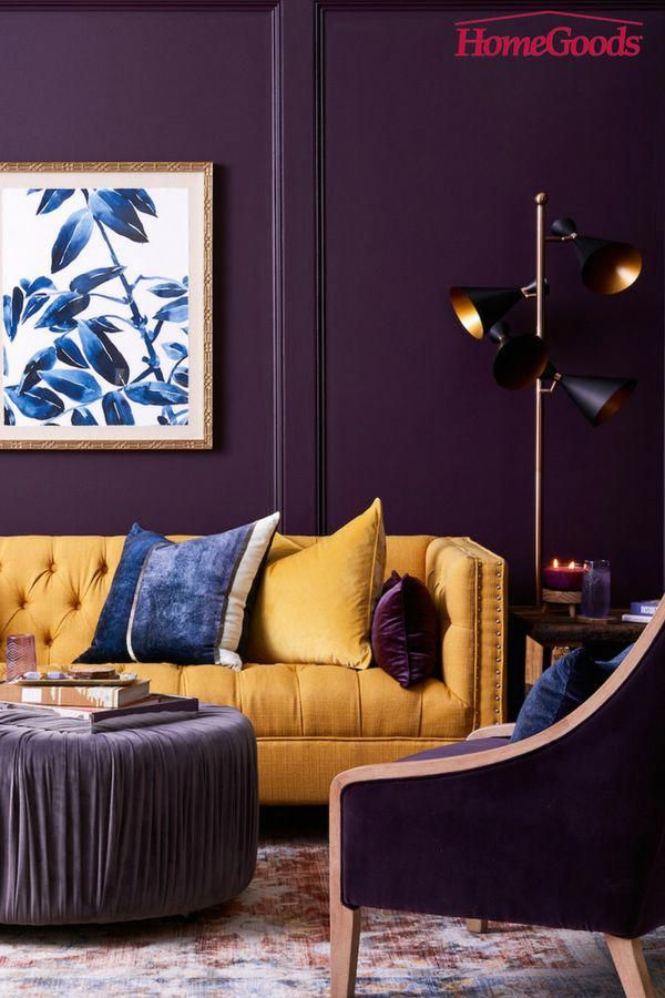Home Decor Diy Uncomplicated And Totally Glam Decor Plan Info 8087723173 Simple Yet Glamorous St Purple Living Room Yellow Bedroom Decor Yellow Living Room