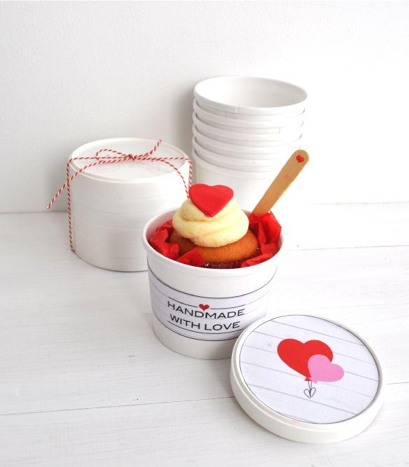 DIY Valentine treat / surprise + free Valentine printables @ Jetjes & Jobjes