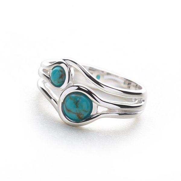 Secret Lagoon Ring - Silver Rings - Silver by Mail