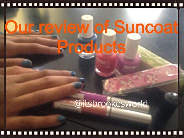 New @ItsBrookesWorld blog post: Review: @Suncoat nail polish and more #nailpolish #suncoatgirl #naturalnailpolish
