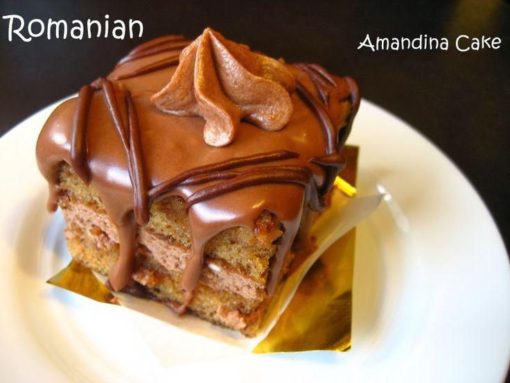 Home Cooking In Montana: Romanian Amandina Cake...