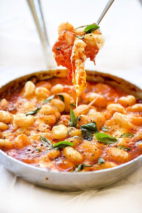 Gnocchi With Pomodoro Sauce | foodiecrush.com