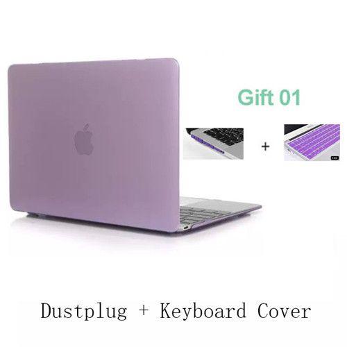 ZUANDUN Matte hard Cover Case For Macbook Air 11 13 Pro 13 15 Retina 12 13 15 inch Laptop bag For MacBook pro 13 case