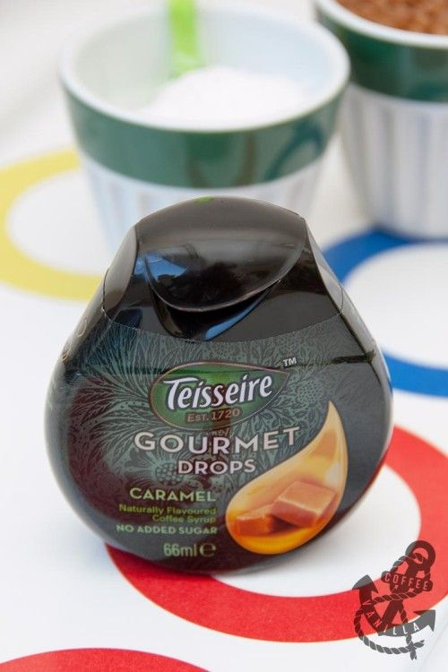 Teisseire Gourmet Drops - Caramel Coffee Syrup