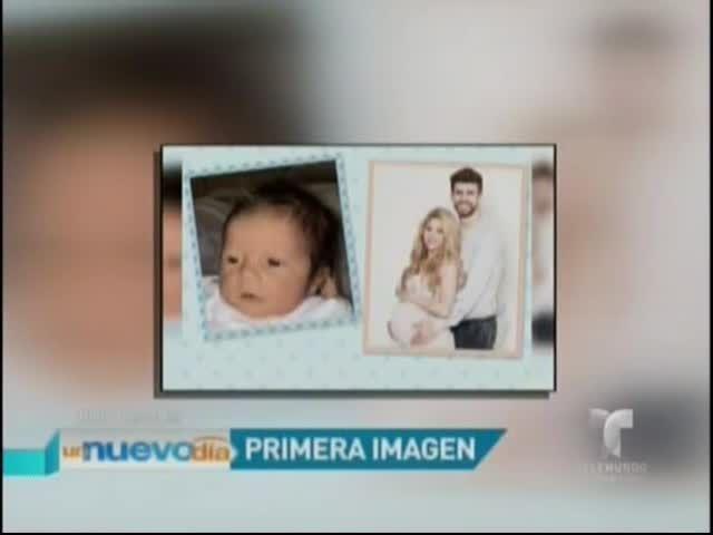 La Primera Imagen Del Segundo Bebé De Shakira #Video