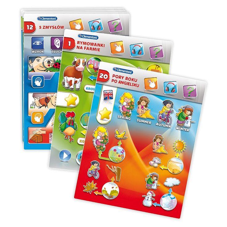Clementoni, zestaw edukacyjny, Touch Pad Sapientino