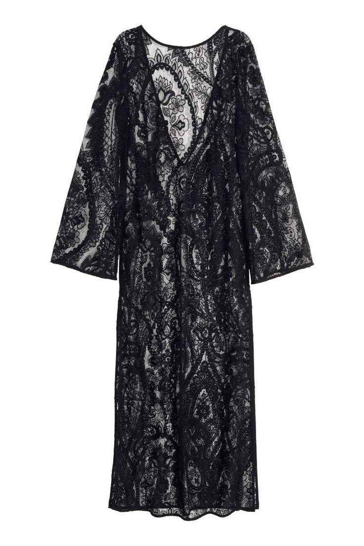 Vestido largo de encaje | H&M