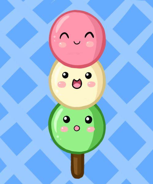 drawings ppgxrrb fan pudding deviantart kawaii dango sweet animals drawing cartoon smiley puddings random favourites
