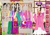Juego de Vestir Barbies del Mundo