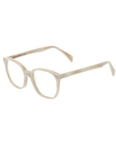 CUTLER and GROSS Óculos Creme E Branco Em Acetato.