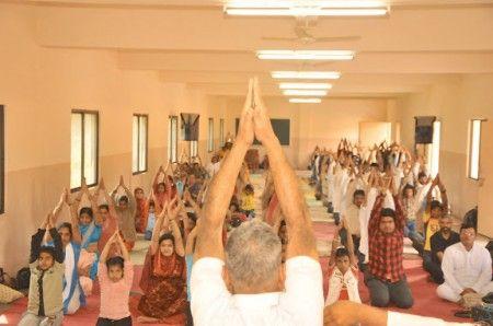Basic Yoga Session held