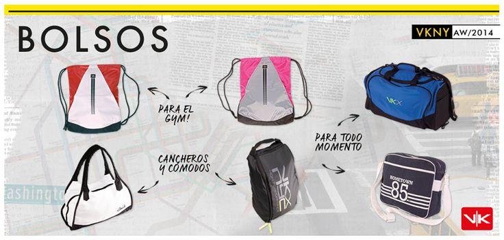 Bolsos Vitnik!! Estas son las opciones de bolsos, mochilas y botinero de esta temporada. Hay combinados, con estampa, con bolsillos. Muy cómodos e ideales para llevar todas tus cosas... ¿Cuál te gusta más?