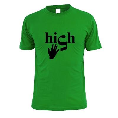 High 5 T-Shirt. size: S M L XL. Order: 087782342244 info@excelcy.com