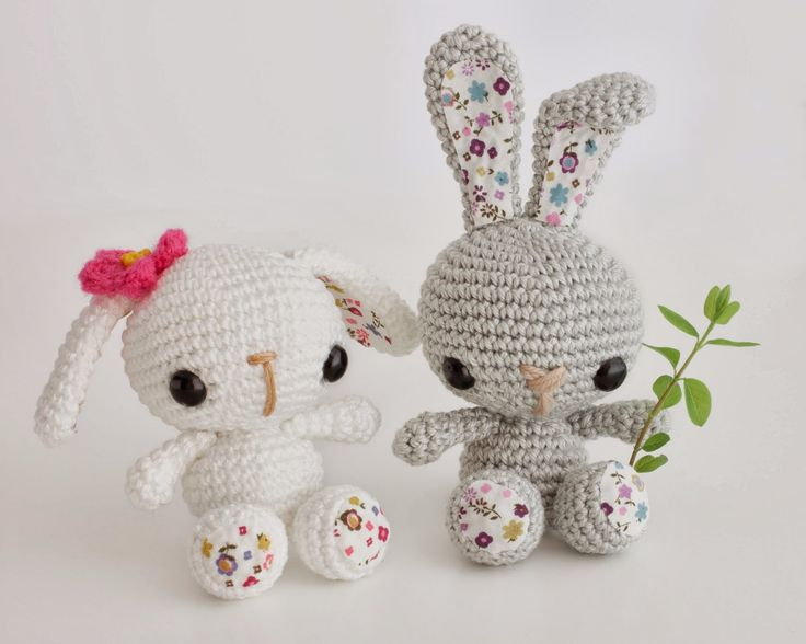 Geek Amigurumi Pattern : Amigurumi Bunny - FREE Crochet Pattern / Tutorial ...