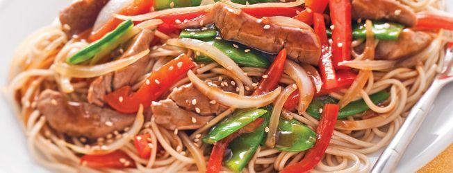 Sauté de Porc Teriyaki aux Légumes