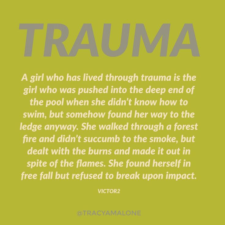 When you love a girl who has been through trauma.... - Narcissist Abuse Support