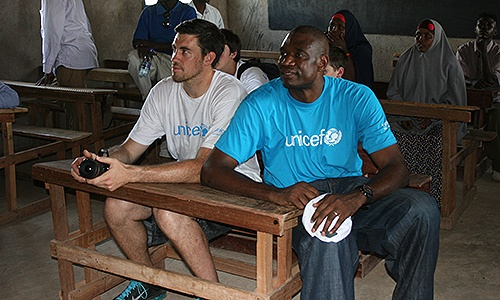 Nick Collison Details Trip To Kenya With Dikembe Mutombo, UNICEF « NBA.com | All Ball Blog - August 2012