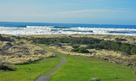 Inn on Oregon's untamed southwestern coast overlooking the ocean with an indoor pool and hot tub