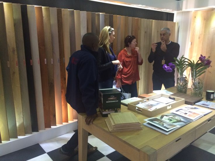 A quick Q & A session with a prospective client  Pictures from our stand at Grand Designs Live 29-31 May 2015 #gdlsa15 #flooring #forestflooring
