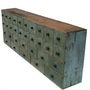 Amazing 6' apothecary from Country Treasures