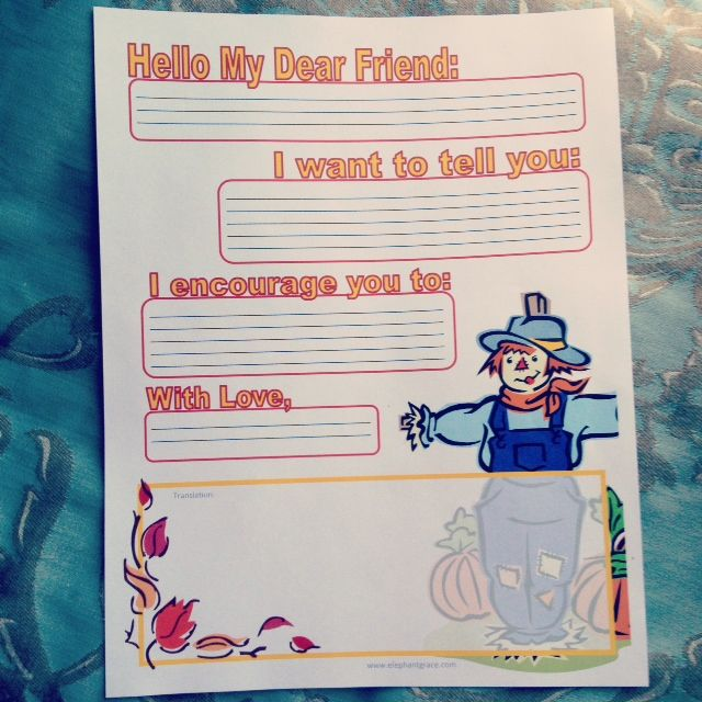 Online letter writing help international