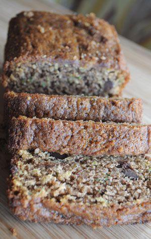 Healthier Zucchini Bread Recipe