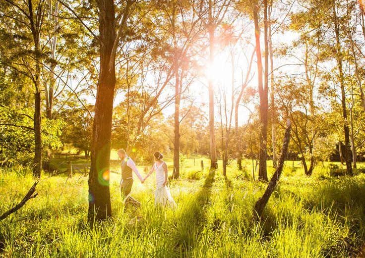 Wedding at Hidden Valley in Eumundi, short drive from Noosa
